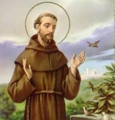 Święty Franciszek z Asyzu patron zwierząt