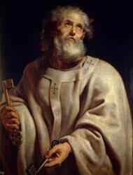 Święty Piotr Apostoł - pierwszy papież