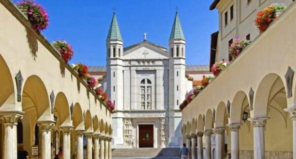 Sanktuarium i klasztor Św. Rity w Cascii