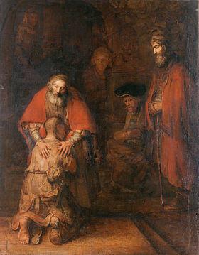 Syn marnotrawny obraz rembranta