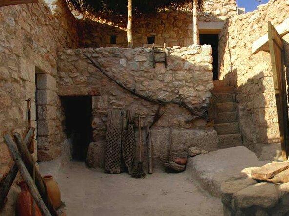 Dom w kafarnaum israel