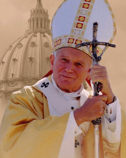 Jan Pawel II obraz religijny