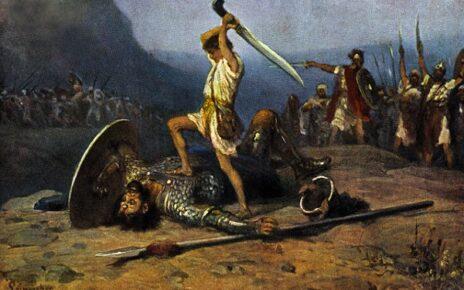 Dawid z goliatem